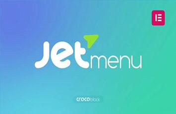 افزودنی جت منو برای المنتور پرو Jet Menu Elementor pro