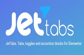 افزودنی جت تب برای المنتور پرو Jet Tabs Elementor pro