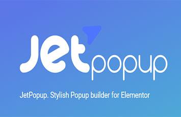 افزودنی افزونه جت پاپ آپ برای المنتور پرو Jetpopup for Elementor