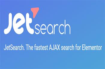 افزودنی جت سرچ جستجو المنتور Jet Search Elementor pro